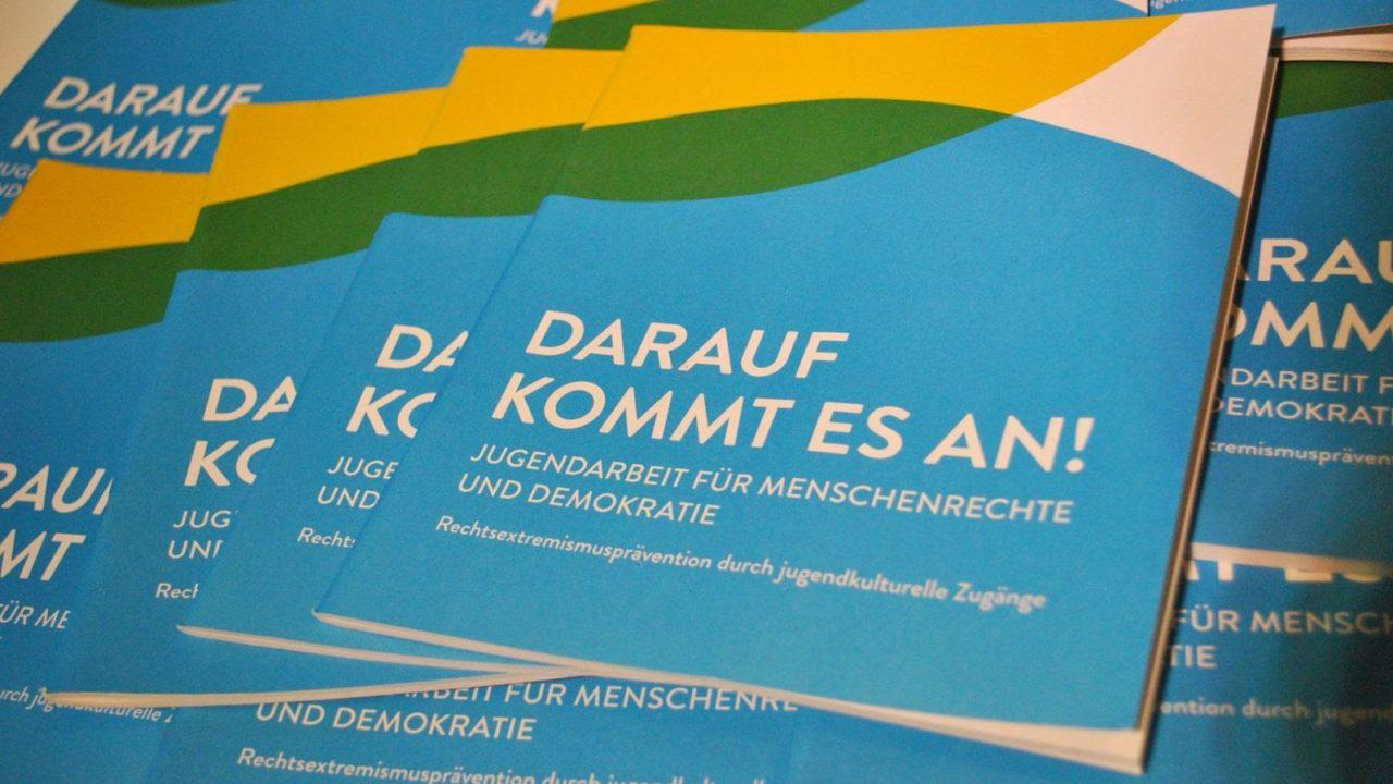 """Broschüre """"Darauf kommt es an!"""""""