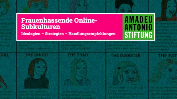 """Coverbild der Broschüre """"Frauenhassende Online-Subkulturen"""""""